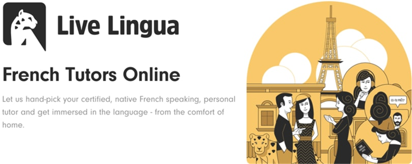 Image Live LIngua French Courses Online