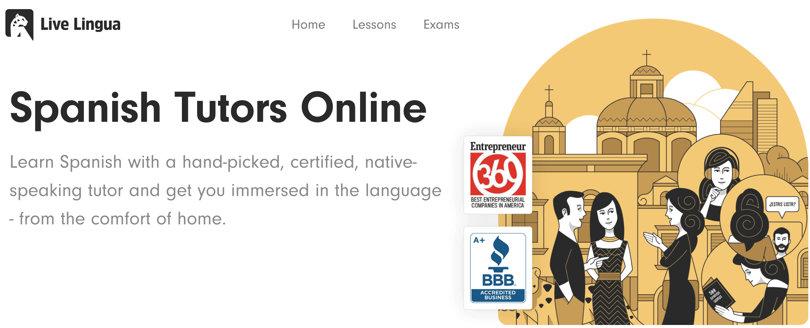 Image Live Lingua - Spanish Courses Online