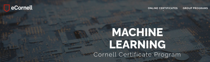 Image Machine Learning Courses Online - Machine Learning Certificate, eCornell