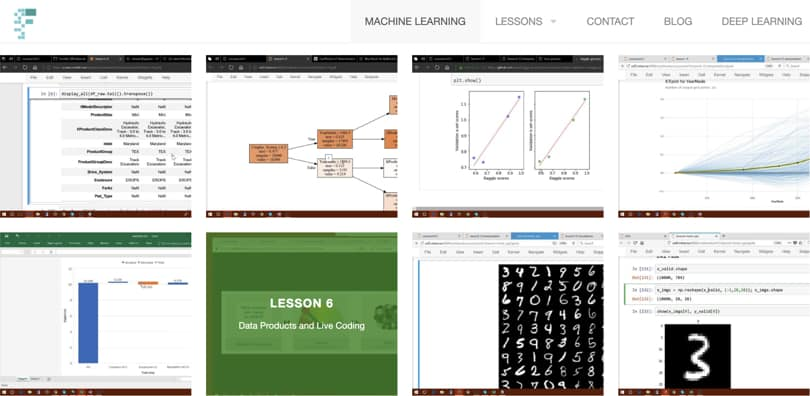 Image Machine Learning Courses Online - Machine Learning Course, Fast AI