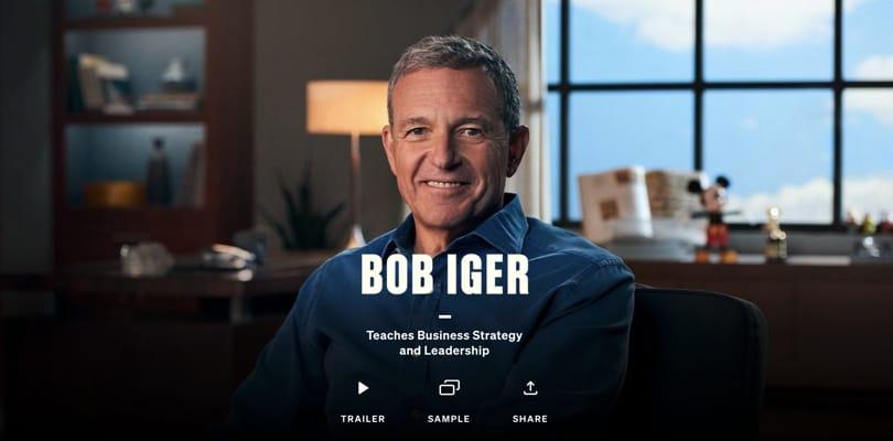 Image Best Masterclass Courses - Bob Iger Teaches Business