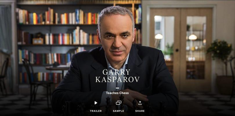 Image Best Masterclass Courses - Garry Kasparov Teaches Chess