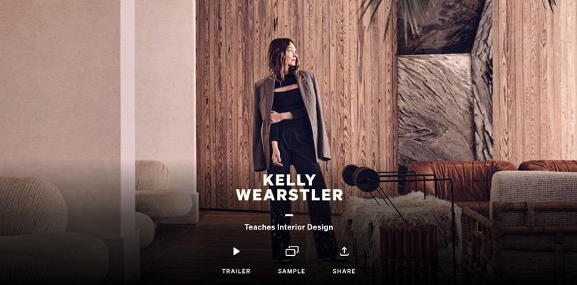 Image Best Masterclass Courses - Kelly Wearstler Teaches Interior Design