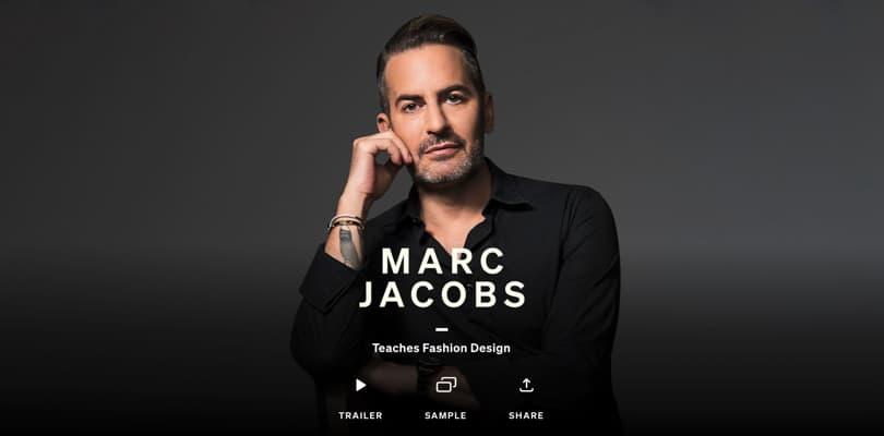 Image Best Masterclass Courses - Marc Jacobs Teaches Fashion Design
