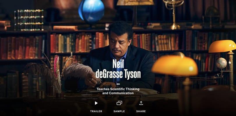 Image Best Masterclass Courses - Neil deGrasse Tyson Teaches Scientific Thinking