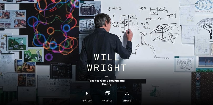 Image Best Masterclass Courses - Will Wright Teaches Game Design
