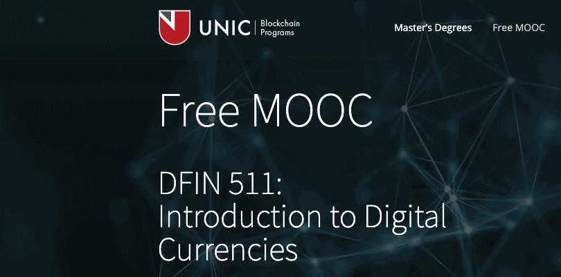 Image University of Nicosia - Introduction to Cryptocurrencies