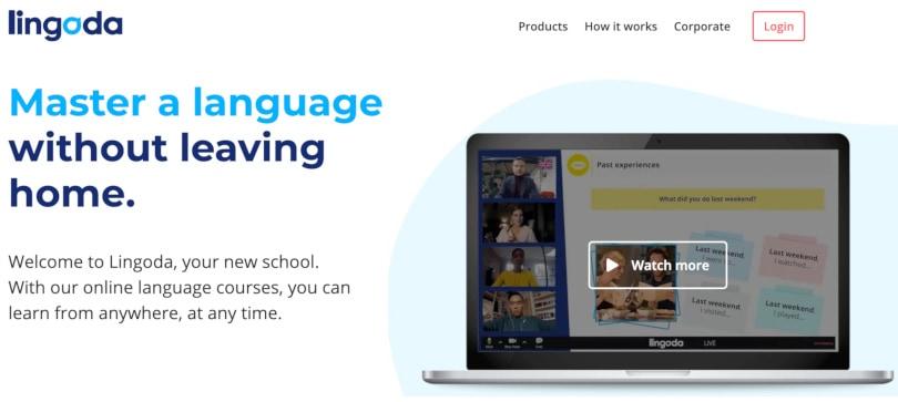 Image Best language courses online - Lingoda