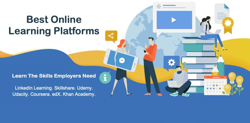 Image of Online Learning Platforms to Learn Skills Employers Need