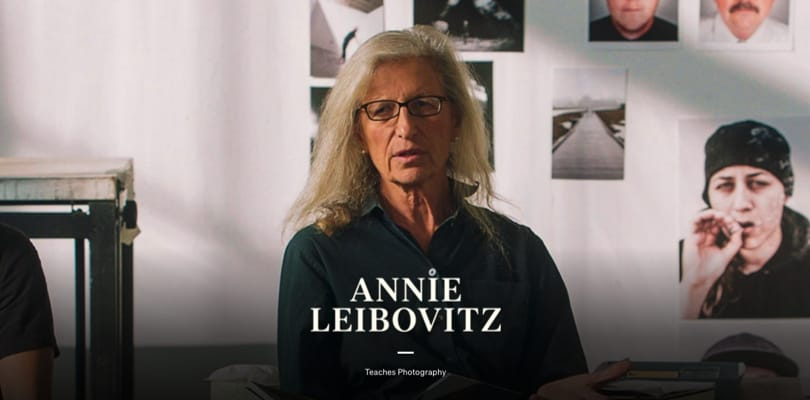 Image Best Photography Courses - Annie Leibovitz Masterclass