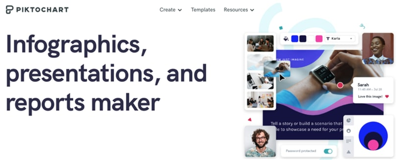 Image Piktochart Online Graphic Design Software