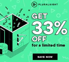 banner image pluralsight special offer
