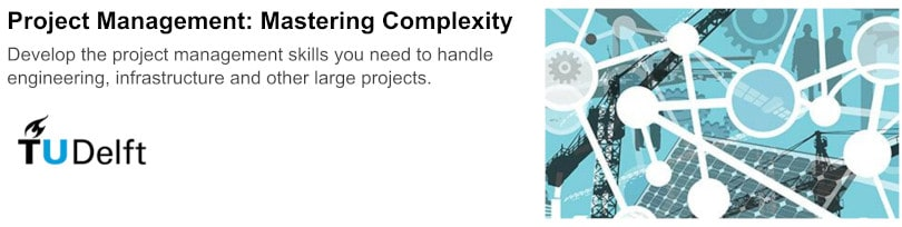 Image Project Management Courses - PM Mastering Complexity edX