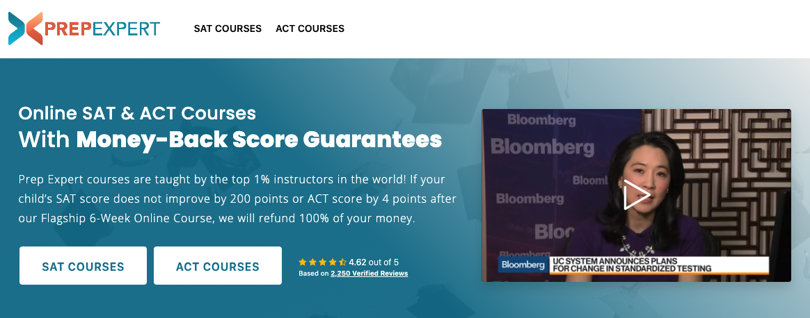Image PrepExpert ACT Prep Courses - Online