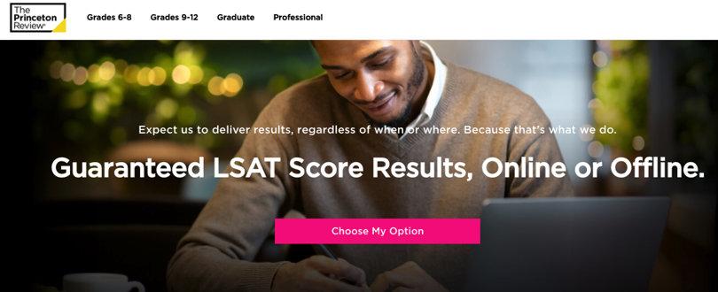 Image Best LSAT Prep Courses - The Princeton Review LSAT Prep