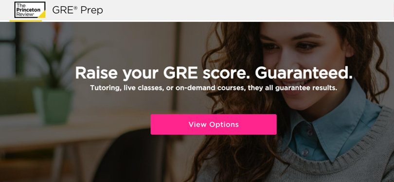 Image Best GRE Courses - The Princeton Review GRE Prep
