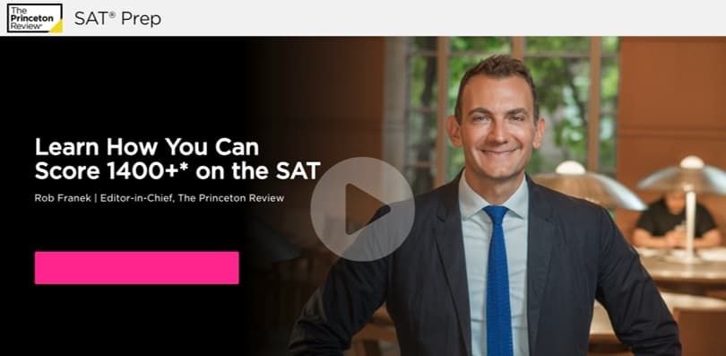 Image Princeton Review SAT Prep Courses - Online, In-person