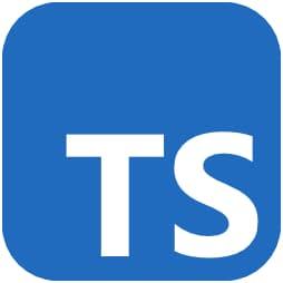 Image Best Programming Languages - TypeScript TS logo