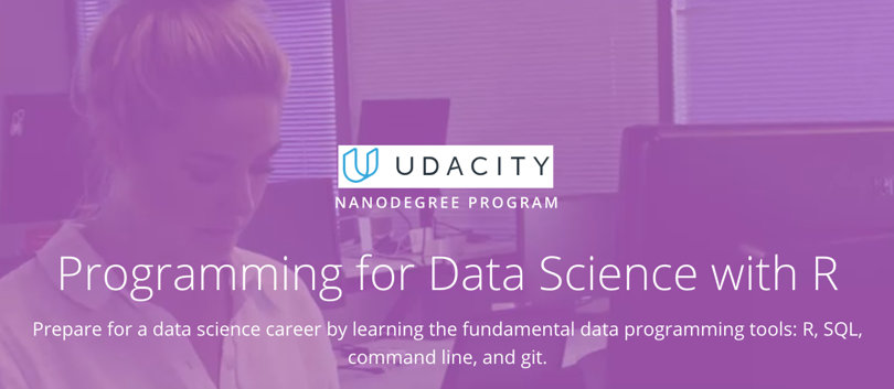 Image R Courses Online - Programming with R, Udacity