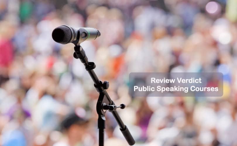 Image of Best Public Speaking Courses -Review Verdict