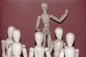 Image of Public speaking - Maintain posture