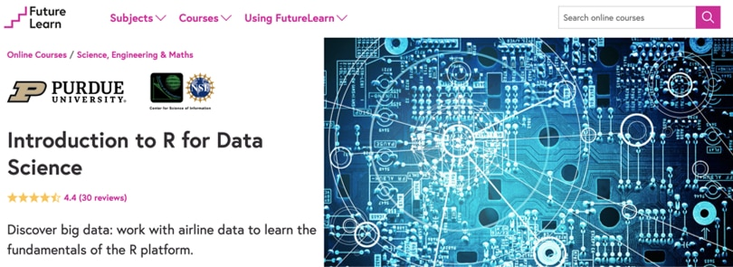 Image R Courses Online - Introduction to R, FutureLearn