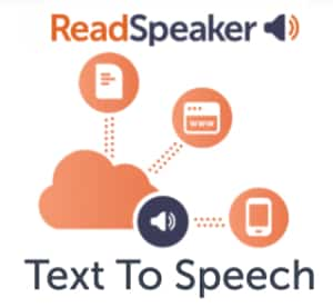 Image Text to Speech Software - ReadSpeaker