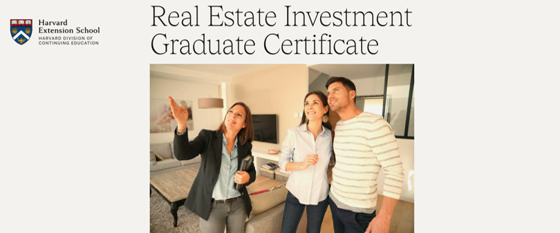 Image Real Estate Investment Certificate Course - Harvard