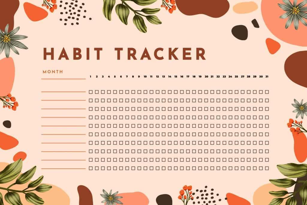 Download Image Resources building habits - Habit- tracker template
