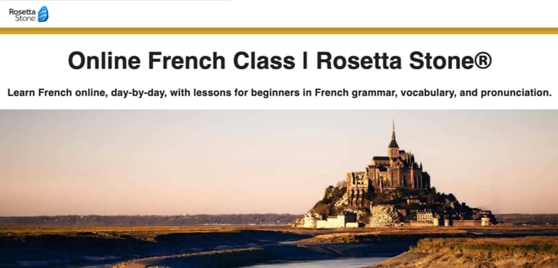 Image Rosetta Stone French Courses Online
