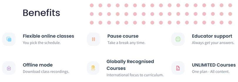 Image Shaw Academy Courses - Benefits