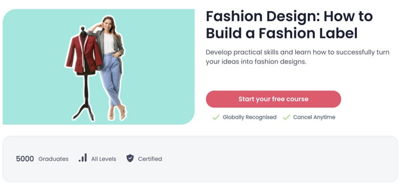 Image Best Shaw Academy Courses - Fashion Design