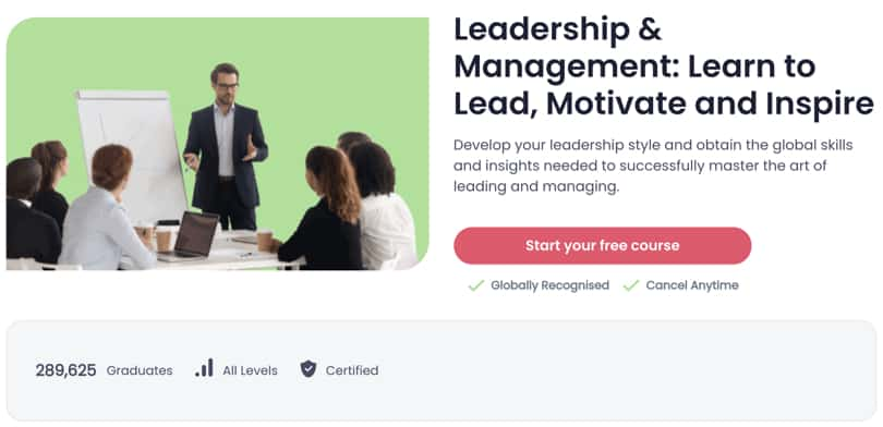 Image Best Shaw Academy Courses - Leadership Management