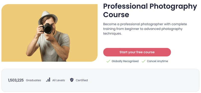 Image Best Shaw Academy Courses - Professional Photography