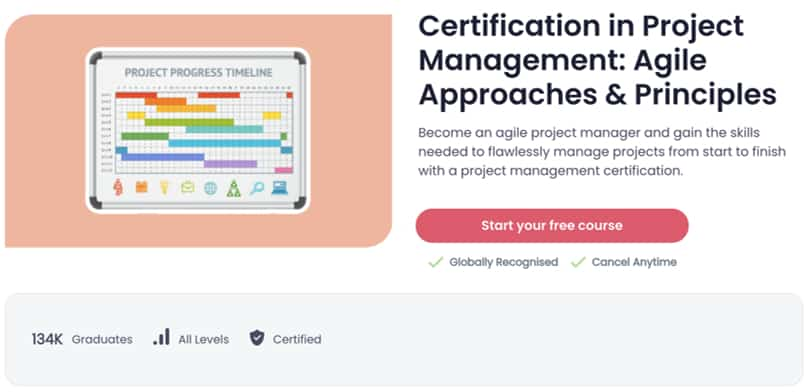 Image Best Shaw Academy Courses - Project Management