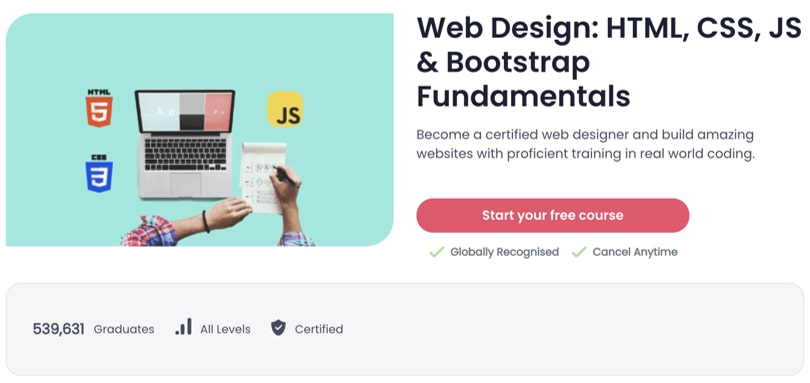 Image Best Shaw Academy Courses - Web Design & Bootstrap
