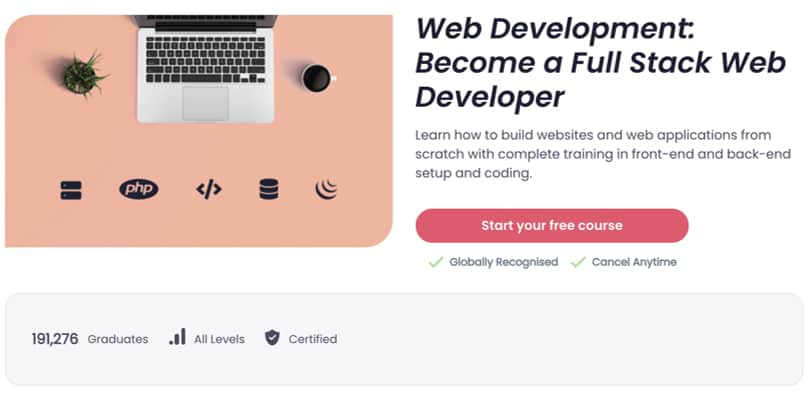 Image Best Shaw Academy Courses - Full-Stack Web Development