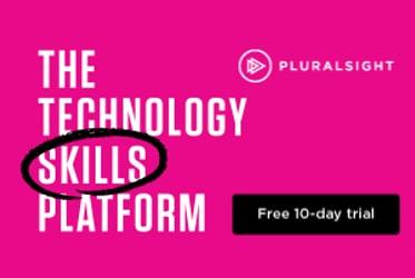 banner image pluralsight trial