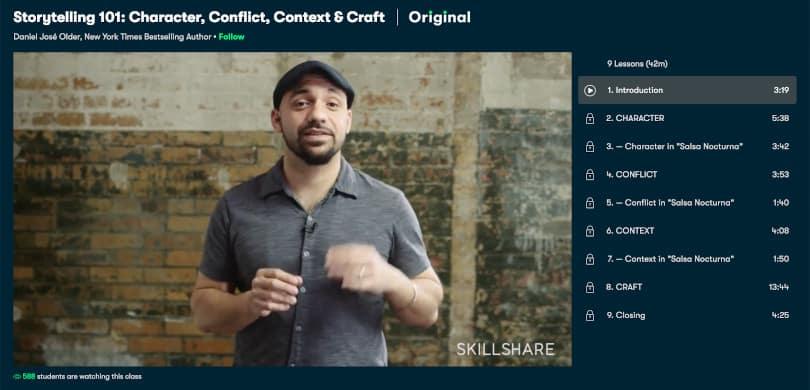 Image of Best Skillshare Courses - Storytelling 101