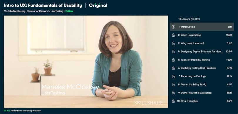 Image of Best Skillshare Courses - UX-Design
