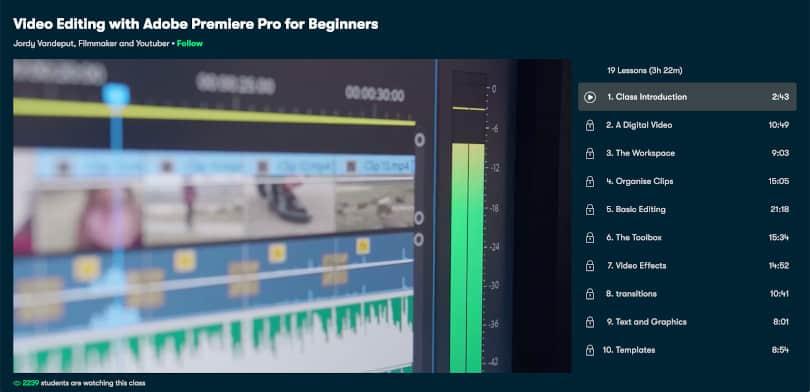 Image of Best Skillshare Courses - Video Editing
