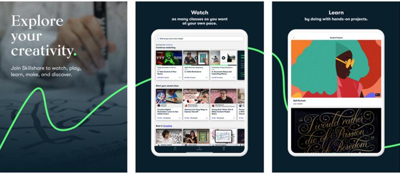Image Skillshare Review - Screenshots - iPad