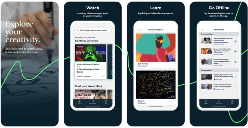 Image Skillshare Review - Screenshots - iPhone