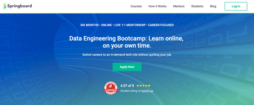Image Springboard Courses - Data Engineering Bootcamp