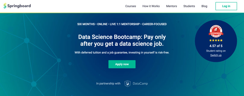Image Springboard Courses - Data Science Bootcamp