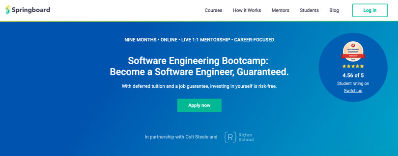 Image Springboard Courses - Software Engineering Bootcamp