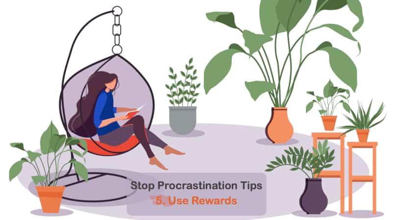 Image Stop Procrastination Tips - Reward Yourself