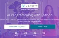 Table image Ai Courses - Udacity