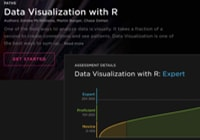 Table Image of R Course, Pluralsight