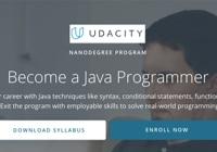 Table image Java Courses - Udacity